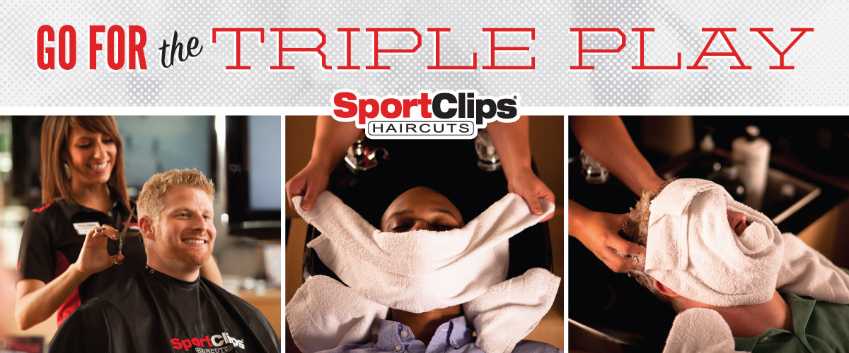 The Sport Clips Haircuts of Port Orange  Triple Play