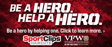 Sport Clips Haircuts of Port Orange ​ Help a Hero Campaign
